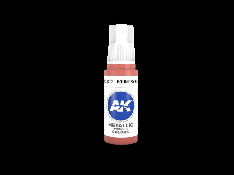 AK Interactive AK Interactive 3rd Gen Acrylic Foundry Red (17ml)