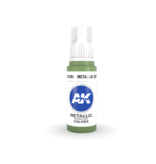 AK Interactive AK Interactive 3rd Gen Acrylic Metallic Green (17ml)
