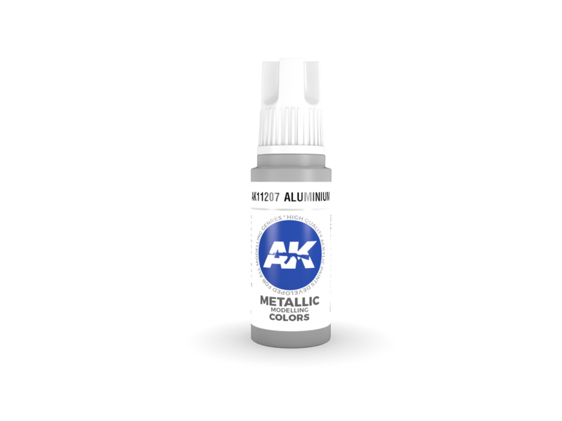 AK Interactive AK Interactive 3rd Gen Acrylic Aluminium (17ml)