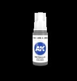 AK Interactive AK Interactive 3rd Gen Acrylic Dark Aluminium (17ml)