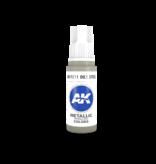 AK Interactive AK Interactive 3rd Gen Acrylic Oily Steel (17ml)