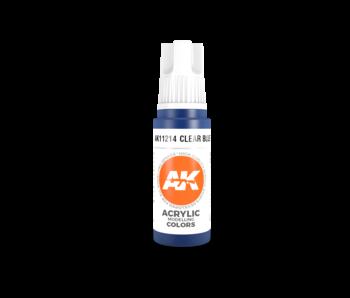 AK Interactive 3rd Gen Acrylic Blue (17ml)