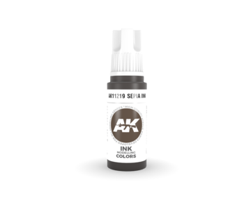AK Interactive 3rd Gen Acrylic Octopus INK (17ml)