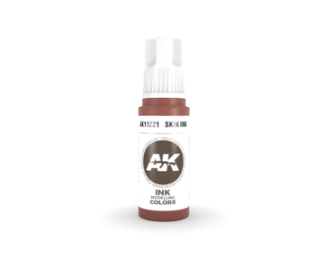 AK Interactive 3rd Gen Acrylic Skin INK (17ml)