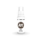 AK Interactive AK Interactive 3rd Gen Acrylic Titanium White INK (17ml)