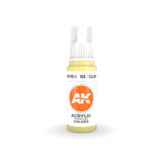AK Interactive AK Interactive 3rd Gen Acrylic Ice Yellow (17ml)
