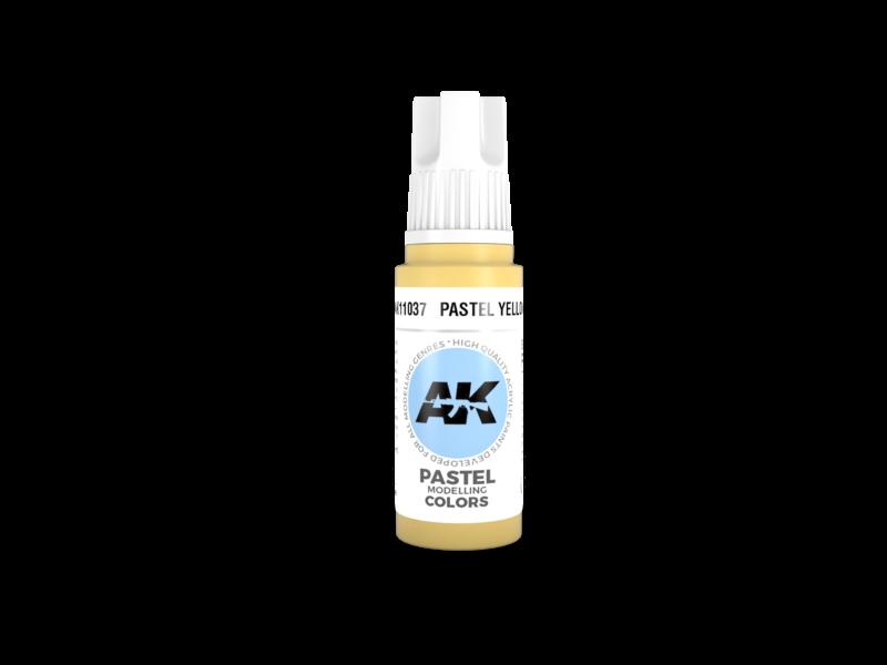 AK Interactive AK Interactive 3rd Gen Acrylic Pastel Yellow (17ml)