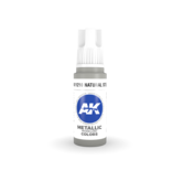 AK Interactive AK Interactive 3rd Gen Acrylic Natural Steel (17ml)