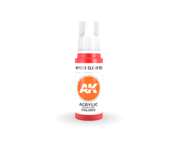 AK Interactive 3rd Gen Acrylic Red (17ml)