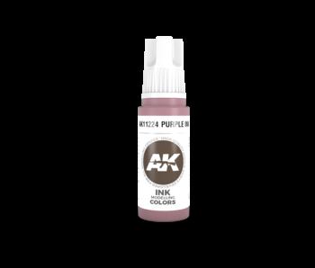 AK Interactive 3rd Gen Acrylic Cardinal Violet INK (17ml)