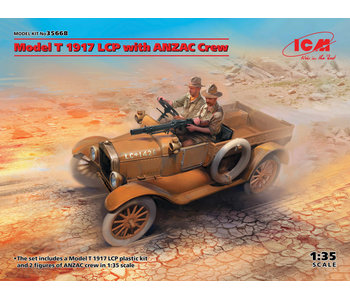 ICM - Model T 1917 LCP with ANZAC Crew