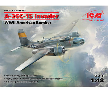 ICM - A-26C-15 Invader WWII American Bomber