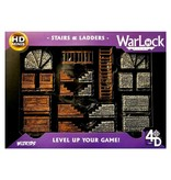 Wizkids Warlock Dungeon Tiles - Stairs And Ladders