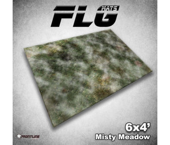 Frontline Gaming Mat Misty Meadow 6X4