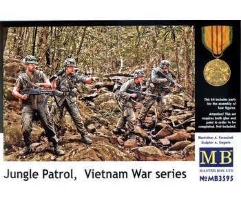 Master Box  Jungle Patrol Vietnam War Series