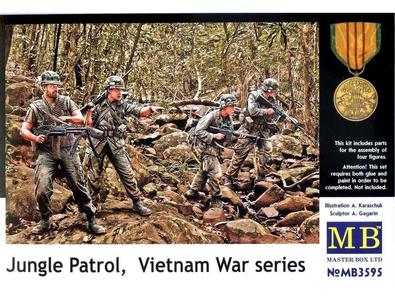 Master Box Master Box  Jungle Patrol Vietnam War Series