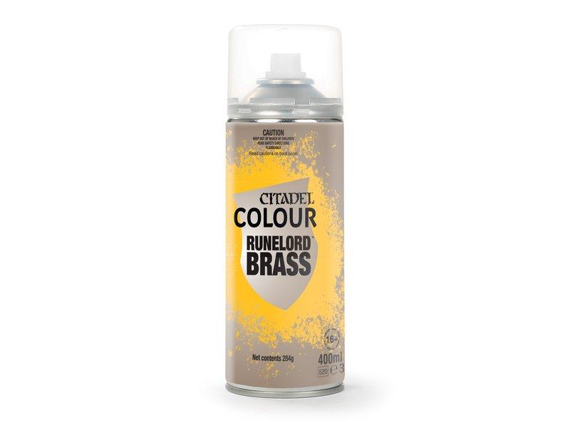 Games Workshop Runelord Brass Primer Spray