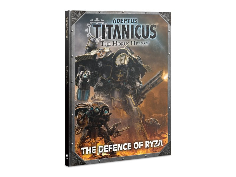 Games Workshop Adeptus Titanicus Defence of Ryza Book