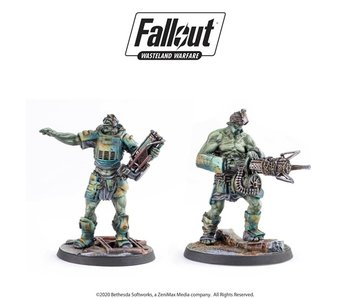 Fallout Wasteland Warfare: Super Mutant Overlord and Fist