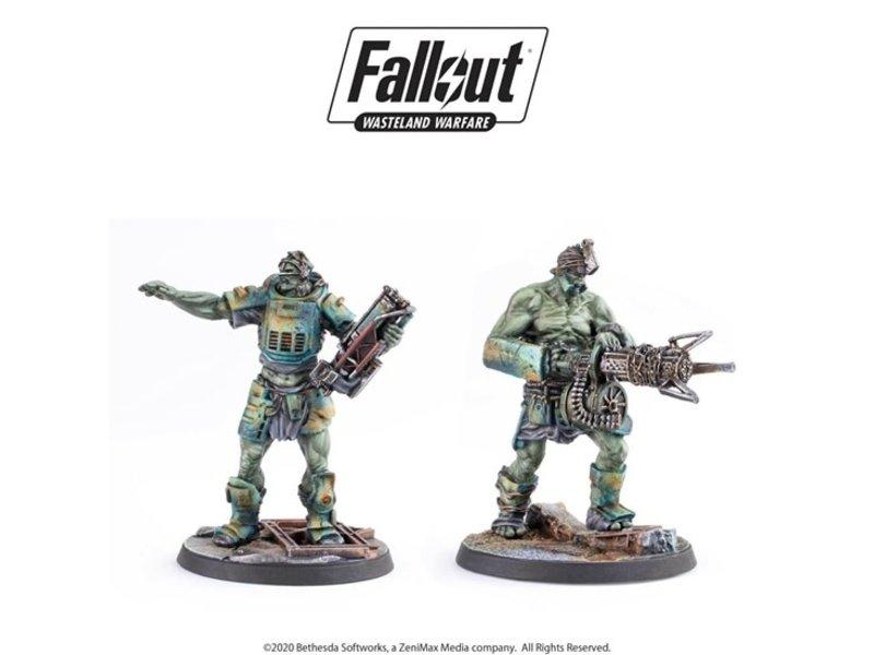 Modiphius Copy of Fallout Wasteland Warfare: Spr Mutants Skirmishers