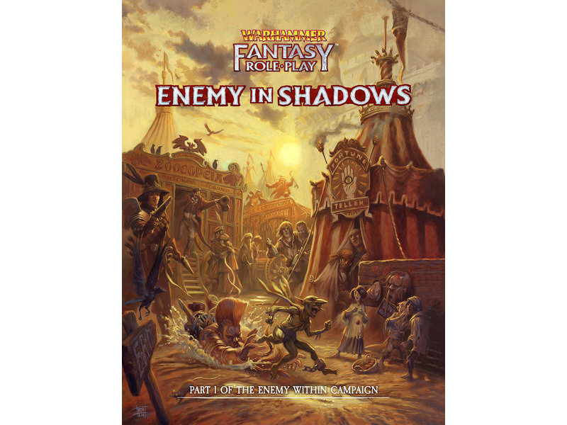 Cubicle 7 Warhammer Fantasy Roleplay: Enemy Within Campaign #1- Enemy In Shadows (HC)