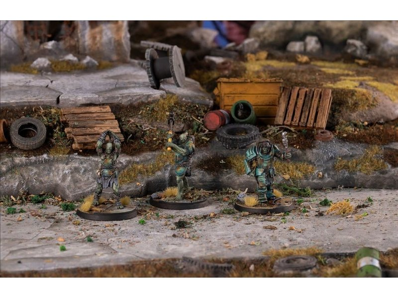 Modiphius Fallout Wasteland Warfare: Spr Mutants Skirmishers