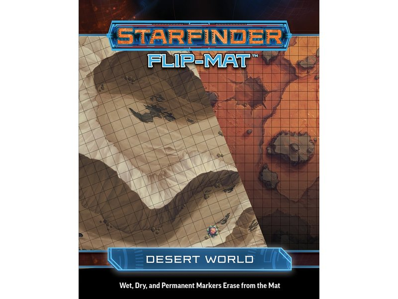 Paizo Starfinder Flip-Mat Desert World