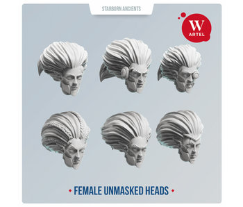 ARTEL Starborn Ancients Female Heads