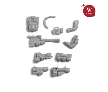 ARTEL Enherjars Kamrades Special/Heavy weapon set