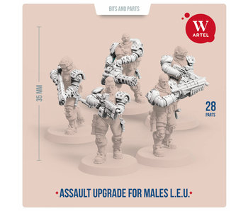 ARTEL Law Enforcement Unit Assault upgrade kit for males