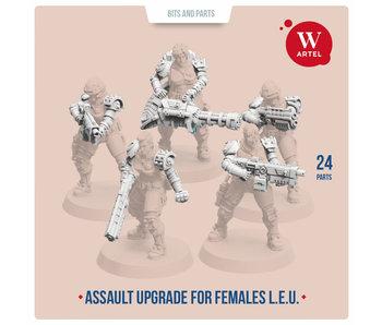 ARTEL Law Enforcement Unit Assault upgrade kit for females