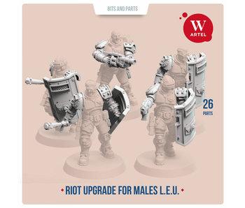 ARTEL Law Enforcement Unit Riot Contol upgrade kit for males