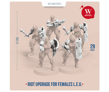 ARTEL Law Enforcement Unit Riot Contol upgrade kit for females