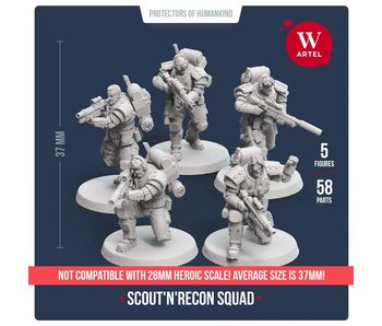 ARTEL Scout and Recon Squad (5 scouts)