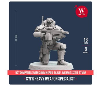 ARTEL Scout and Recon Heavy Weapon Specialist