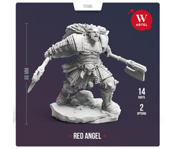 ARTEL Red Angel 28mm scale miniature