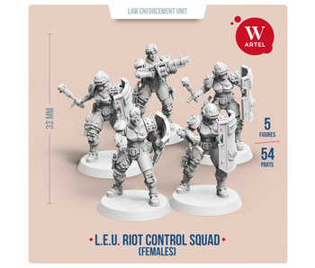 ARTEL Law Enforcement Unit - Riot Control Squad (Female enforcers)
