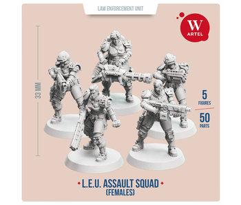 ARTEL Law Enforcement Unit - Assault Squad (Female enforcers)