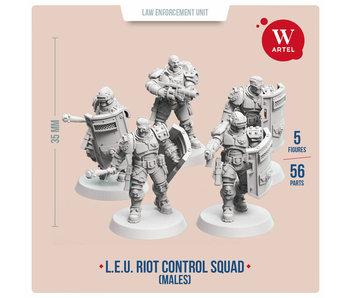 ARTEL Law Enforcement Unit - Riot Control Squad (Male enforcers)