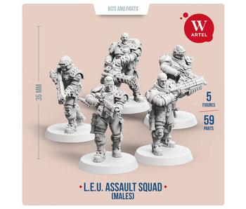 ARTEL Law Enforcement Unit - Assault Squad (Male enforcers)