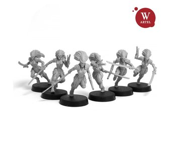 ARTEL Voidstalkers Squad (5 warriors + Leader)