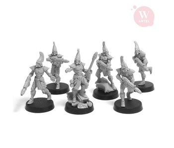ARTEL Flaming Drakes Squad (5 warriors + leader)