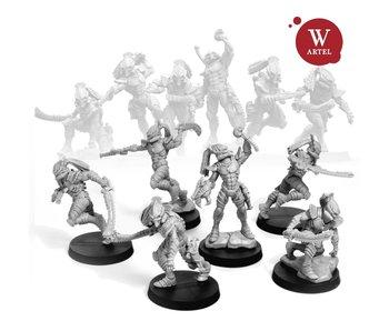 ARTEL Shadow Hunters Squad (5 warriors+leader)