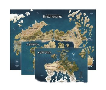 D&D (5th Ed) Map Set Eberron - Nations for Khorvaire