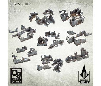 Frostgrave Second Edition - Towns Ruins (HDF)