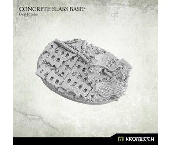 Concrete Slabs Oval 105mm
