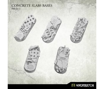 Concrete Slabs Bike 70x25mm Set 2 (5)