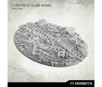 Concrete Slabs Oval 170mm (1)