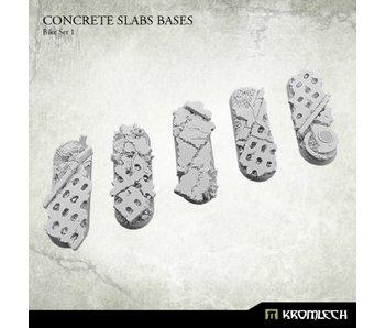 Concrete Slabs Bike 70x25mm Set 1 (5)