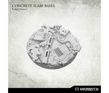 Concrete Slabs Round 60mm [pattern 2] (1)